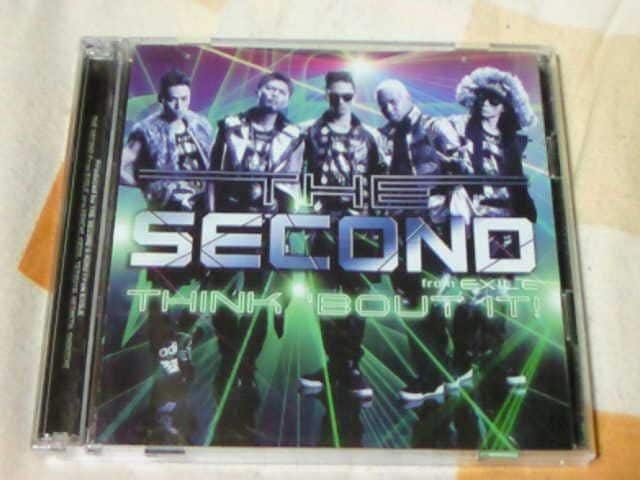 CD+DVD THE SECOND from EXILE THIK BOUT IT! 初回限定盤  < タレントグッズの