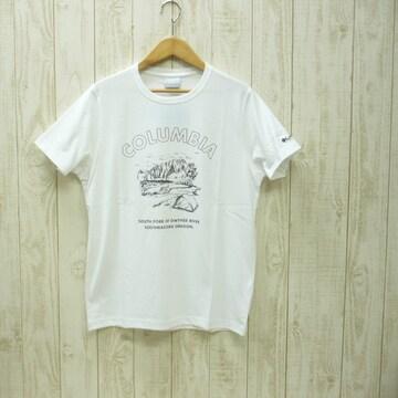 即決☆コロンビア特価オレゴンTシャツ WHT/M 半袖 新品