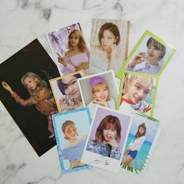 TWICE★ジョンヨン★特典トレカ&ポストカードなど★10点【公式商
