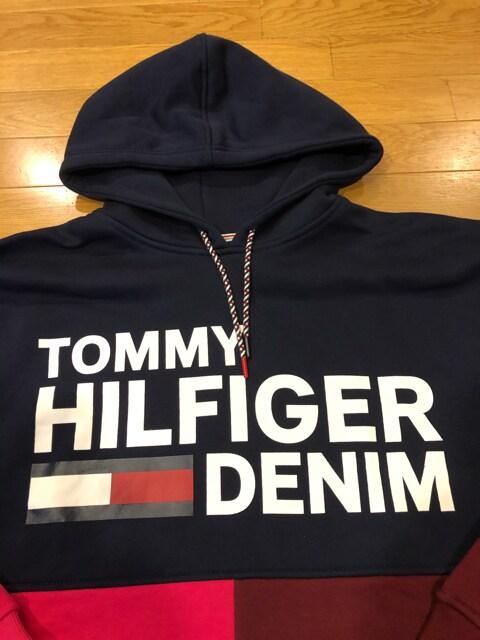 TOMMY HILFIGER  トミー  プルオーバー 大きいsizeXXL < ブランドの