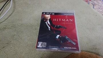 PS3用ソフト   ヒットマン  中古  送料込み