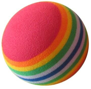 ゴルフ練習用ボール EVA リボンボール (30個セット)