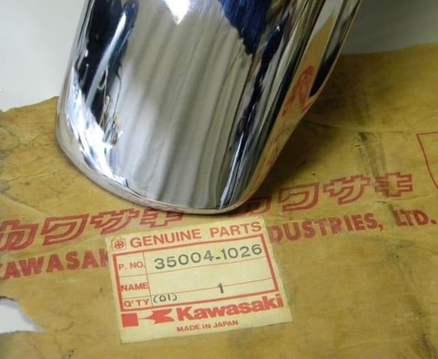 カワサキ Z250-A Z250FT フロントフェンダー 絶版新品 < 自動車/バイク