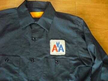 アメリカン航空 アメリカンエアライン ワークシャツ USA−L