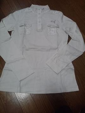 プーマゴルフ長袖シャツ