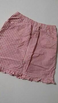 ユニクロ150�p パンツ付スカート