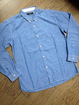 美品CIAO PANIC シャンブレーシャツ 日本製 チャオパニック