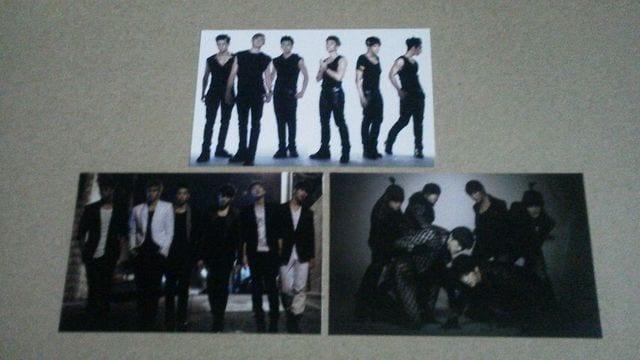 2PM カード (3枚)  < タレントグッズの