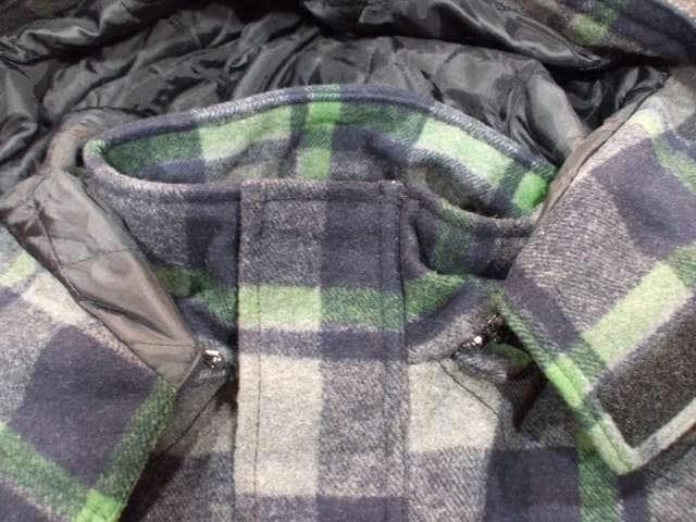 セール新品Brooklynブルックリンベースメント★チェック柄コート2XL < 男性ファッションの