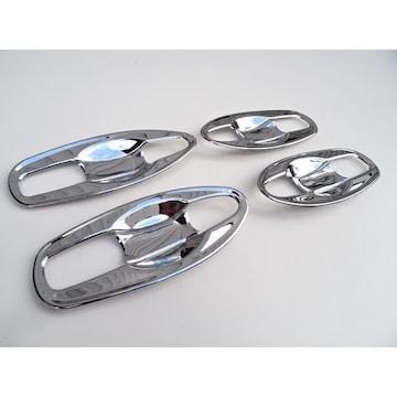 日産 エクストレイル T32 クロームメッキ ドアハンドルカバー 皿