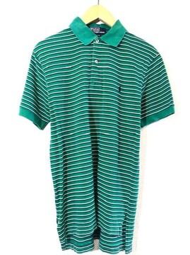 Ralph Lauren■ポロシャツ■ボーダー■ラルフローレン■緑