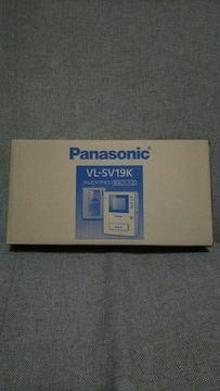 ■パナソニック テレビドアホン VL-SV19K 新品未使用品■