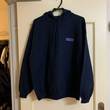 "EQUIPMENT★EQT HOODIE ""Purple Rain★ネイビー"