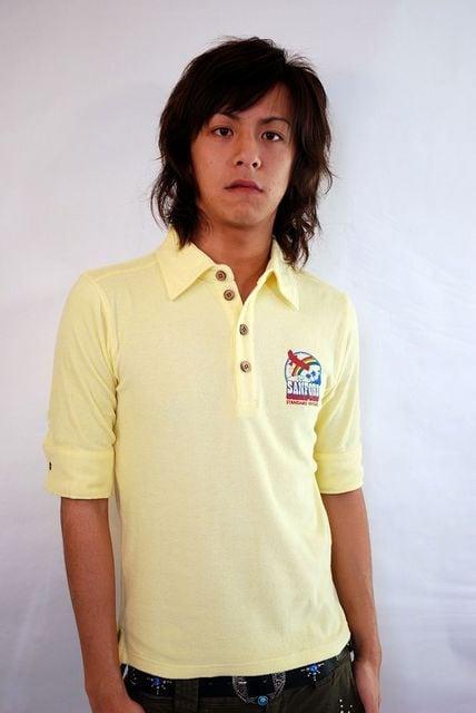 SANFORD(サンフォード)5分袖ポロシャツ/L アメカジサーフ系  < ブランドの