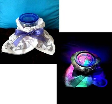 2way LEDライト イルミネーション 虹色 お花 インテリア照明