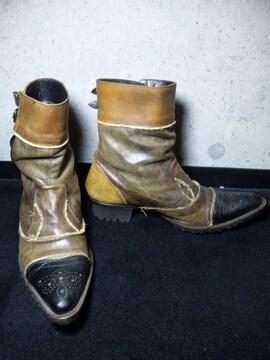 アルフレッドバニスター〓ブーツ靴〓ブラウン/40〓シューズ