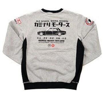 カミナリ雷/ハコスカ/スエット/ash/kmsw-100/エフ商会/テッドマン/カミナリモータース