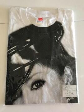 浜崎あゆみ綿100%Tシャツ、新品、未開封
