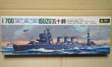 1/700 フジミ 日本海軍 軽巡洋艦 五十鈴(連合艦隊イラスト付)