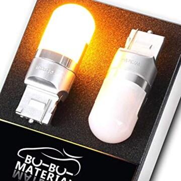 ぶーぶーマテリアル T20 LED ムラなく光る ウインカー シングル