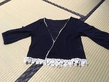 七分袖カーディガン☆