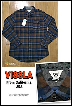 VISSLA最新ネルシャツ★本物USA直輸入モデル!限定大特価SALE!