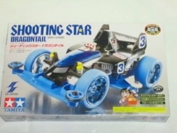 ミニ四駆 SHOOTING STAR DRAGONTAIL シューティング スター ドラゴンテイル レッド