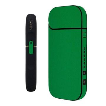 31色 iQOSステッカー ケース 全面 グリーン