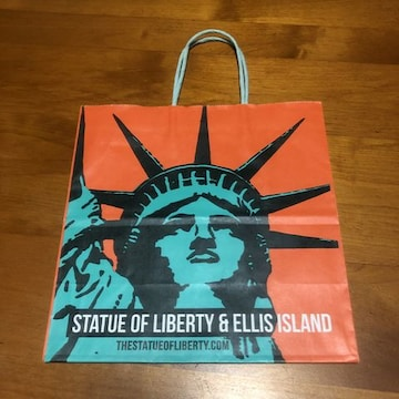 STATUE OF LIBERTY & ELLIS ISLAND 紙袋 NY限定