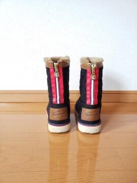 Tommy トミー ブーツ ブラック 23.0cm