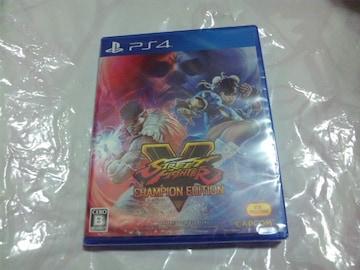 【新品PS4】ストリートファイター�X チャンピオンED