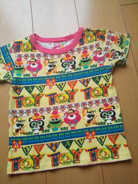 中古シークレットTシャツ110黄JAM  < ブランドの