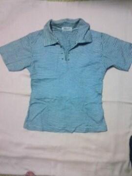 マリン ボーダー襟付き半袖Tシャツお姉CanCam美品