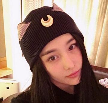 今回だけ390円♪ニット帽秋冬新品!!!★可愛い猫耳帽子
