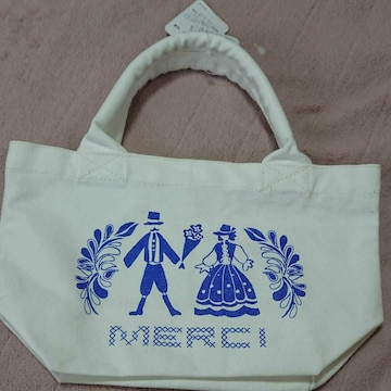 MERCI ミニトートバッグ 新品未使用
