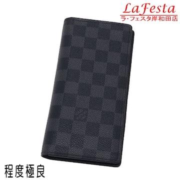 本物美品◆ヴィトン【人気】ダミエグラフィット長財布ブラザ箱袋
