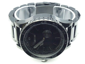 新品正規NIXON51-30ALL BLACK CRYSTAL2年保証