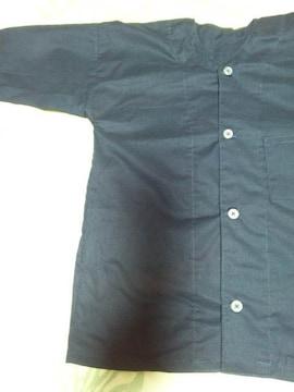 ☆新品=紺×無地=ダボシャツ110