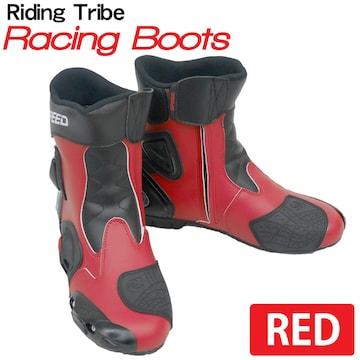Riding Tribe レーシングブーツ バイク用 RB-RD 43 26.5cm