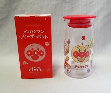 未使用品◆アンパンマン◆フリーザーポット 耐熱ガラス 500ml