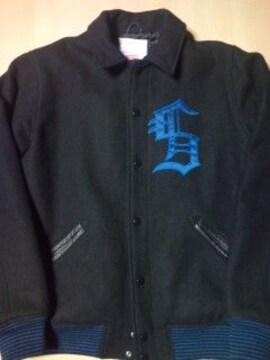 10a/w varsity jacket ブラック M
