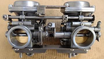 GS400 押しキャブ良品GT380GSX400CBX400Z400FX引きキャブ エンジン マフラー