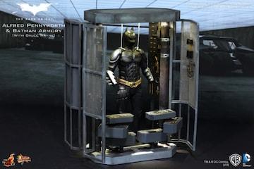 バットスーツ格納庫+バットマン(ホットトイズ)※他欠品/未使用