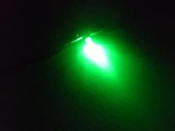 三菱ふそうFUSOスーパーグレート/エアコンパネル照明用LED/緑色
