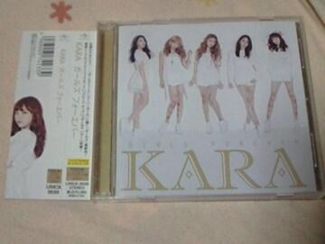 CD+DVD KARA アルバム ガールズフォーエバー 初回限定盤A