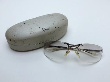 A095 クリスチャンディオール サングラス メガネ 度なし メンズ