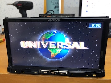 ケンウッド 彩速ナビMDV-L500 4×4地デジ内蔵 DVD再生