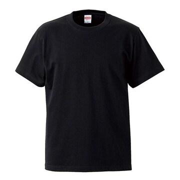 United Athle 5.6オンスハイクオリティーTシャツ ブラック XXL