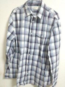 オールドネイビー チェックシャツ