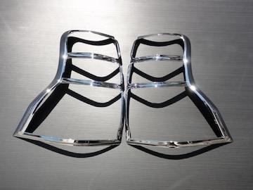 クロームメッキテールライトリング プラド150系